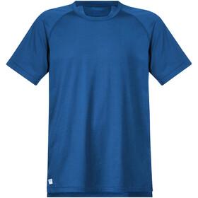 Bergans Filtvet Camiseta Hombre, steel blue/fjord